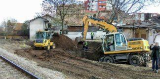 Izgradnja Južnog kolektora u Nišu