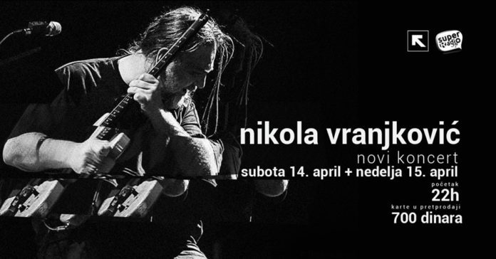 Koncert Nikole Vranjkovića u Nišu, Foto: FB event Feedback
