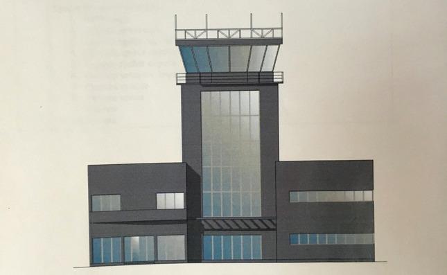 Idejni projekat novog kontrolnog tornja na aerodromu u Nišu