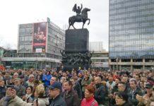 """Ne damo niški aerodrom"" protest u Nišu"