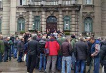 Protest radnika niških propalih preduzeća