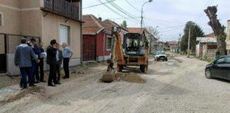 Počeli radovi na rekonstrukciji Daničićeve ulice