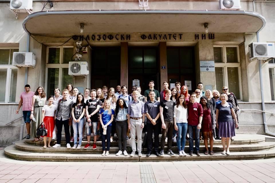 Završena poseta studenata iz Alabame; Foto: Filozofski fakultet Niš