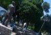 Prolećna akcija: Očišćen amfiteatar u Nišu i postavljene klupe