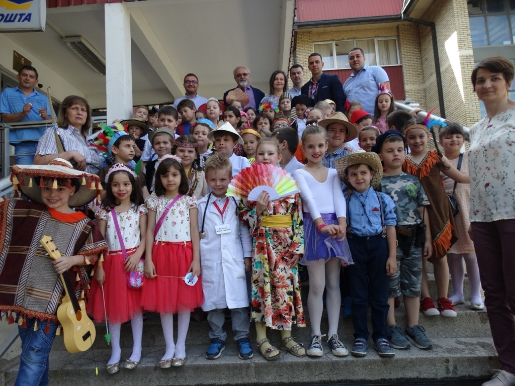 Predškolci u poseti GO Pantelej