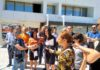 Niška opozicija ispred niškog aerodroma