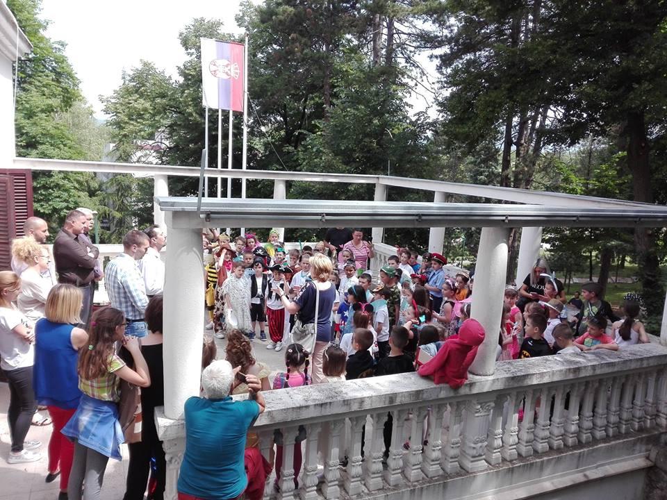 Predškolci u poseti GO Niška Banja