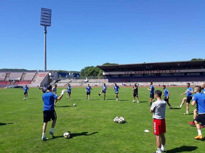 Trening, Foto: FK Radnički