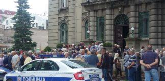 Radnici u Nišu od sada protestuju utorkom bez boraca