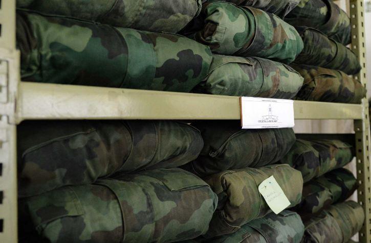 Uniforme; Foto: Ministarstvo odbrane