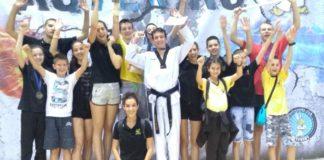 "Pobednik turnira: Tekvondo klub ""Azija"" iz Beograda"