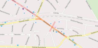 Zatvara se Episkospka ulica od Mokranjčeve do Hajduk Veljkove