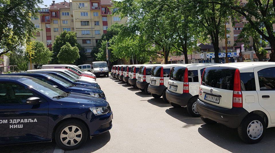 Vozni park Doma zdravlja Niš