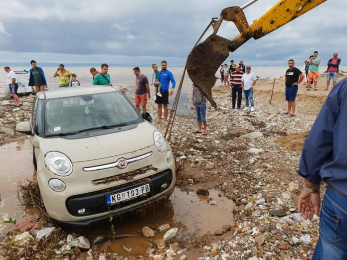 Bujice napravile materijalnu štetu u turističkim mestima u Grčkoj; Foto: Grčka Info FB, Printscreen