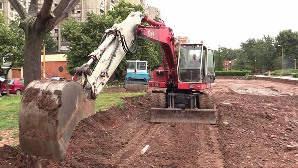 Radovi su počeli 13. juna i prilaz iz Ulice Vojvode Tankosića je zatvoren za parkiranje
