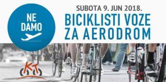 Niški biciklisti voze za aerodrom