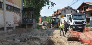 U Daničićevoj ulici u Nišu radovi u završnoj fazi; JKP Naissus