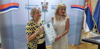 Nišku nagradu za najbolju knjigu za decu dobila književnica iz Beograda; Foto: Grad Niš