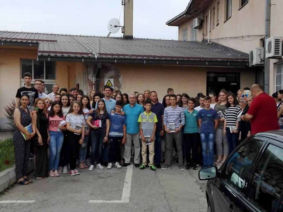 Nagrađeni učenici sa područja GO Crveni krst