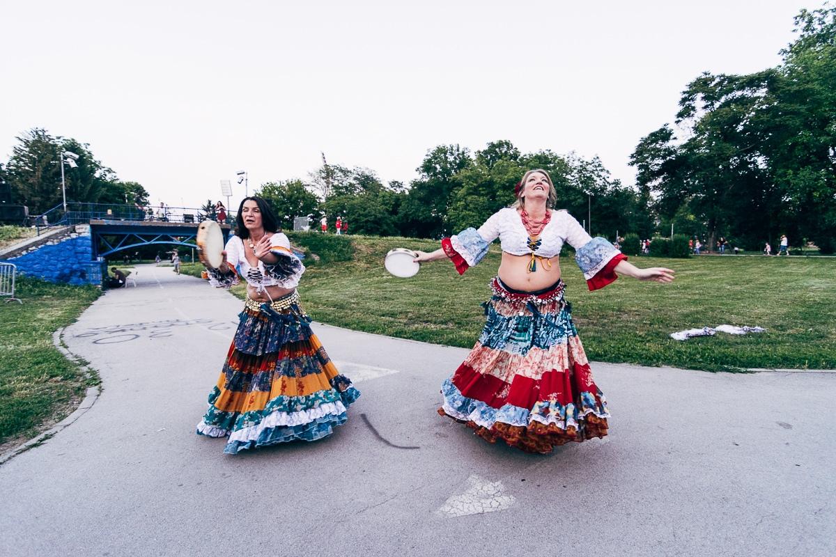 Promocija Festivala orijentalnog plesa u Čairu; Foto: Ivan Dinić