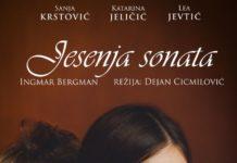 Jesenja sonata, plakat