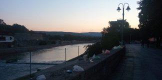 Nišavski kej u ranim jutarnjim časovima; Foto: Naissus Info