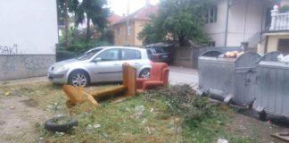 "Krfska ulica i II proleterske brigade; Foto: JKP ""Mediana"" Niš"