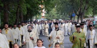 Gradska slava, svečana litija u Nišu; Foto: eparhijaniska.rs