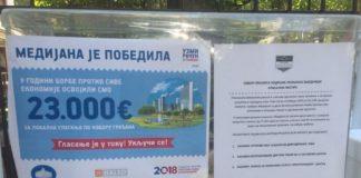 Građani glasaju za izbor projekta