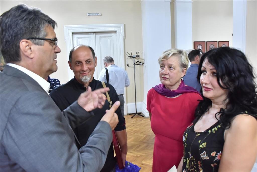 Prijem u Gradskoj kući za učesnike Gastro-turističkog festivala; Foto: Grad Niš