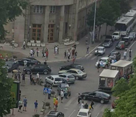 Niš protest vozača zbog cena goriva; Foto: Naissus Info