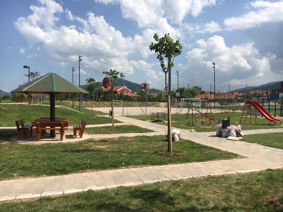 """Park prijateljstva u Brzom Brodu; Foto: Organizacija """"Uređenje Brzog Broda"""""""