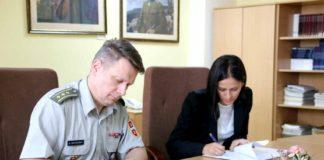 Sporazum o saradnji između Ministarstva odbrane i Visoke škole strukovnih studija za kriminalistiku i bezbednost Niš