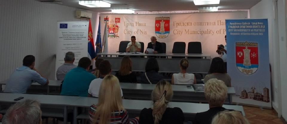Prezentacija projekta GO Pantelej i Opštine Lom; Foto: GO Pantelej