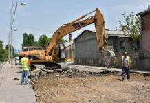 Rekonstrukcija ulice kod tehničkih fakulteta u Nišu; Foto: Grad Niš