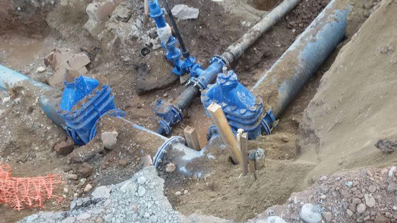 Komunlano-infrastrukturni radovi u Daničićevoj ulici u Nišu; JKP Naissus