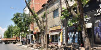 Počela rekonstrukcija trotoara u Voždovoj ulici; Foto: Grad Niš