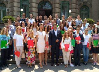 Talentovani učenici i studneti Grada Niša; Foto: Grad Niš