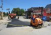 Završni radovi na raskrsnici kod Paliluske rampe, Niš; Foto: JKP Naissus