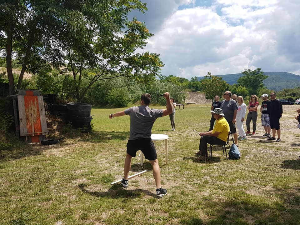 KZM Shooting challenge 2018.; Bacanje sekire;