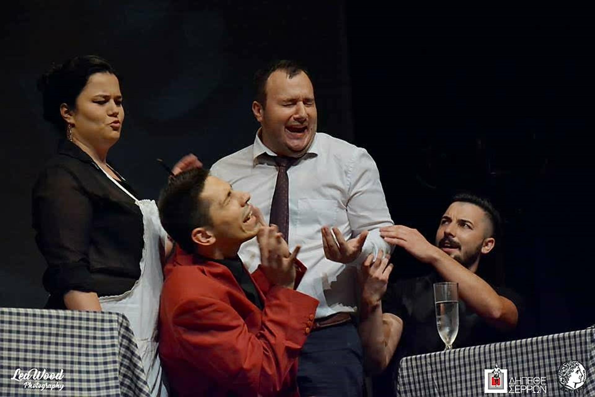 Scena iz predstave niških studenata