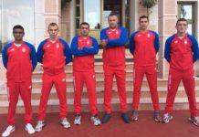 Selekcija Srbije - Slobodan Kostić, treći sa leve strane