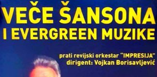 Veče šansona i evergreen muzike