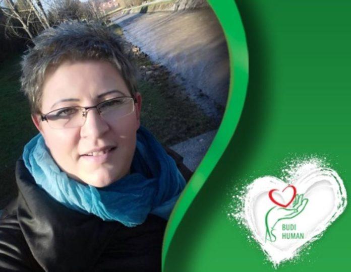 Bojana Vučković; Foto: Budi human Printscreen