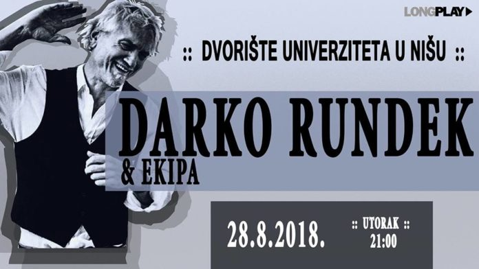 Darko Rundek & Ekipa u Nišu; Foto: Long play, FB Printscreen