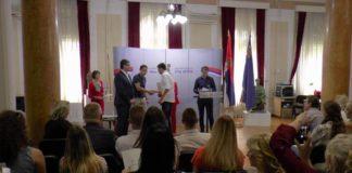 Svečana dodela Ugovora o stipendiranju talentovanih sportista sa teritorije Grada Niša
