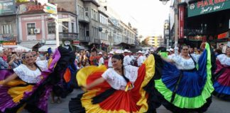 Međunarodni festival folklora u Nišu prethodnih godina: Foto: SKC Niš