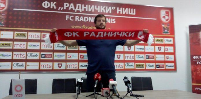 Nenad Lalatović, trener FK Radničkog; Foto: FK Radnički