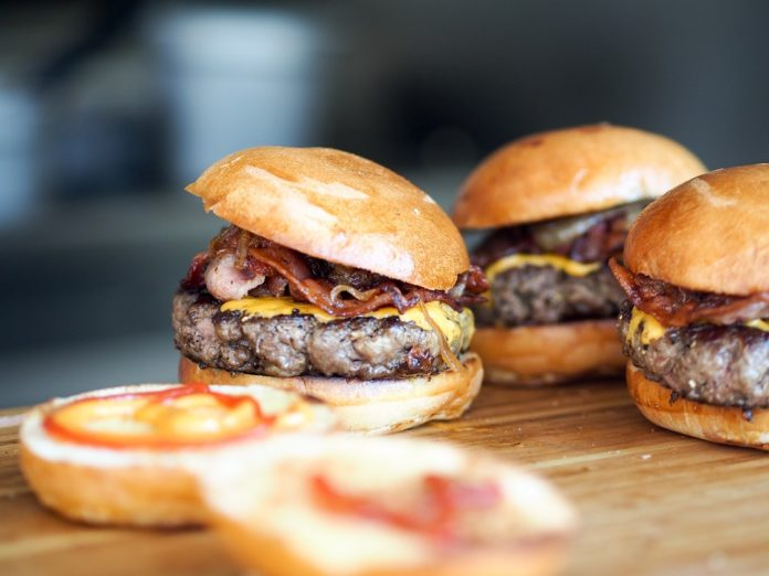 Hamburger, ilustracija: Foto: Pixabay
