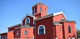 Hram Sveta Tri Jerarha u niškom naselju Brzi Brod; Foto: Eparhija niška